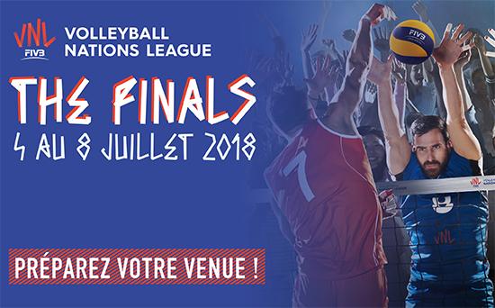 Volleyball Nations League Préparez votre venue !