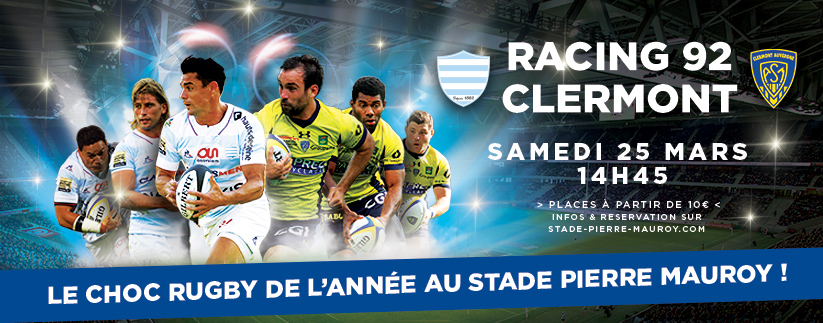 Sport - Racing 92 - Clermont