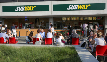 Subway - Lille - Stade Pierre Mauroy