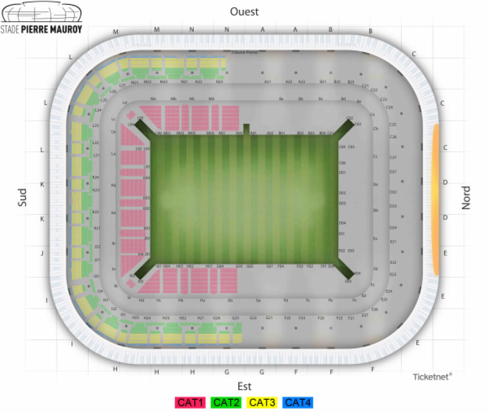 Supercross 2016 stade pierre mauroy for Plan pour